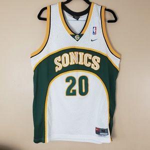 Gary Payton Sonics Jersey Nike Size Medium